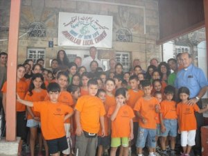 Children at Ramallah Christian Outreach in 2009